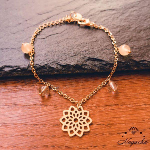 bracelet-Lucia-calcite-jaune-quartz-rutile
