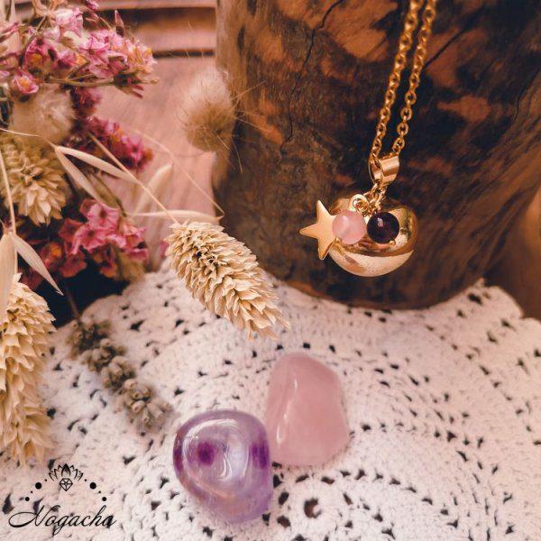 collier-bola-de-grossesse-etoile-dore-amethyste-quartz-rose