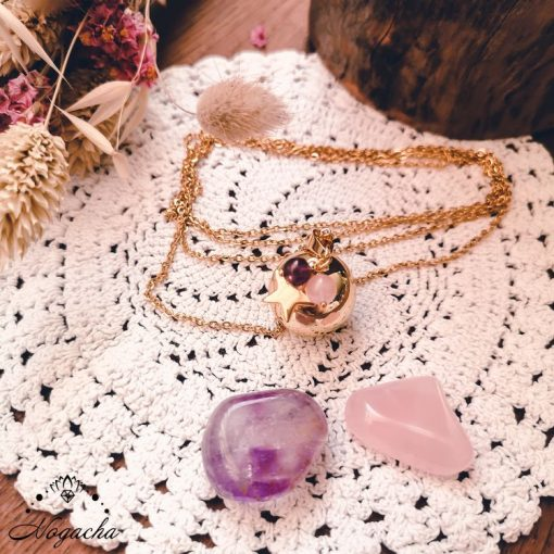 collier-bola-de-grossesse-etoile-dore-quartz-rose-amethyste