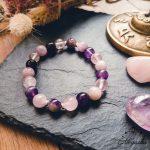bracelet-apaisement-charoite-amethyste-quartz-rose