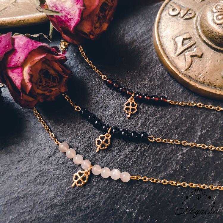 bracelet-chance-trefle-pierre-de-lune-grenat-onyx