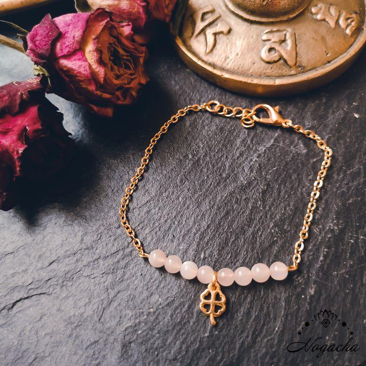 bracelet-chance-trefle-pierre-de-lune