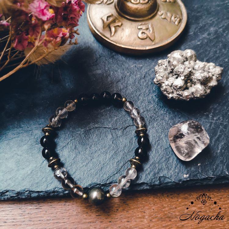 bracelet-confiance-estime-de-soi-quartz-fume-cristal-de-roche