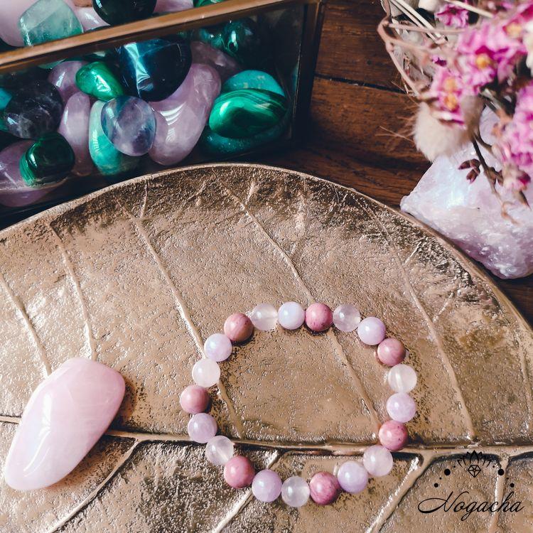 bracelet-en-pierres-charkra-coeur-rose