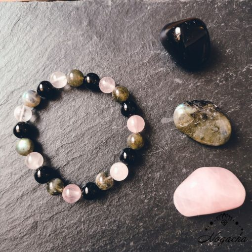 bracelet-pierres-protection-labradorite-obsidienne-quartz-rose