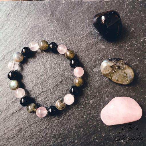 bracelet-pierres-protection-labradorite-obsidienne-quartz-rose
