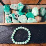 bracelet-pierres-uni-amazonite-authentique