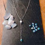 collier-pendant-calcedoine-cyanite-chakra-gorge