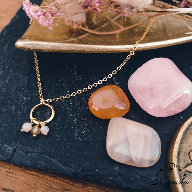 collier-maitia-cornaline-quarz-rose-pierre-de-lune