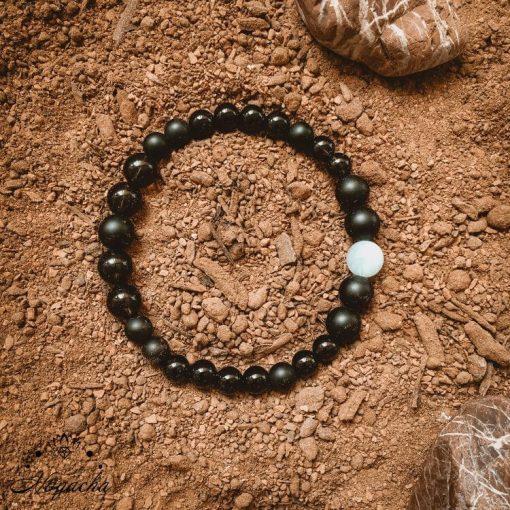 Bracelet-homme-aigue-marine-quartz-fume-orphee