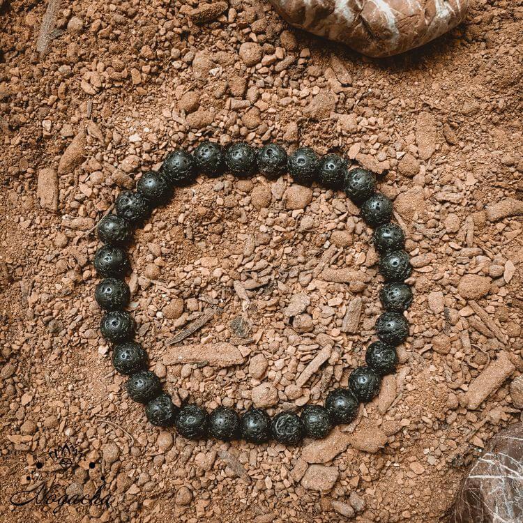 Bracelet-homme-double-pierre-de-lave