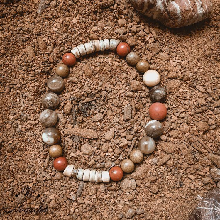 Bracelet-homme-jaspe-rouge-dune