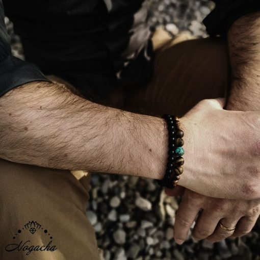 Bracelet-persee-homme-turquoise-africaine